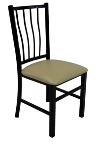 APHRODITE STEEL RESTAURANT CHAIR