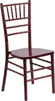 WOOD CHIAVARI CHAIR MAHOGANY