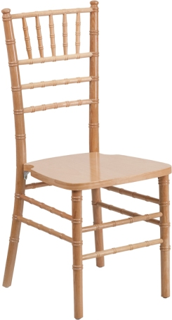 WOOD CHIAVARI CHAIR NATURAL
