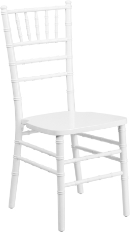 WOOD CHIAVARI CHAIR WHITE