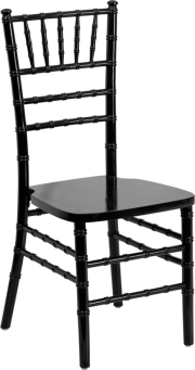 WOOD CHIAVARI CHAIR BLACK